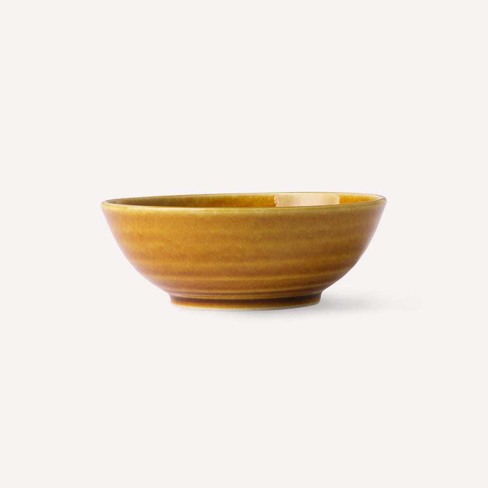 Bol Kyoto Ceramics PORCELANA Esmalte AZAFRAN