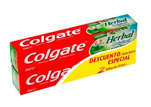 Colgate Herbal 75ml pack 2u