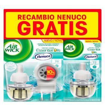 Airwick Eléctrico Aparato + 2 Recambios Nenuco