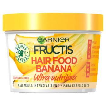 Fructis Hair Food Mascarilla Banana 390ml