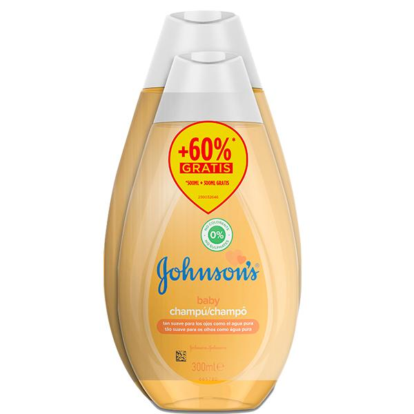 Johnsons Champú 500+300ml