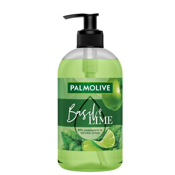 Palmolive Jabón Liquido Dosificador Lima & Albahaca 500ml