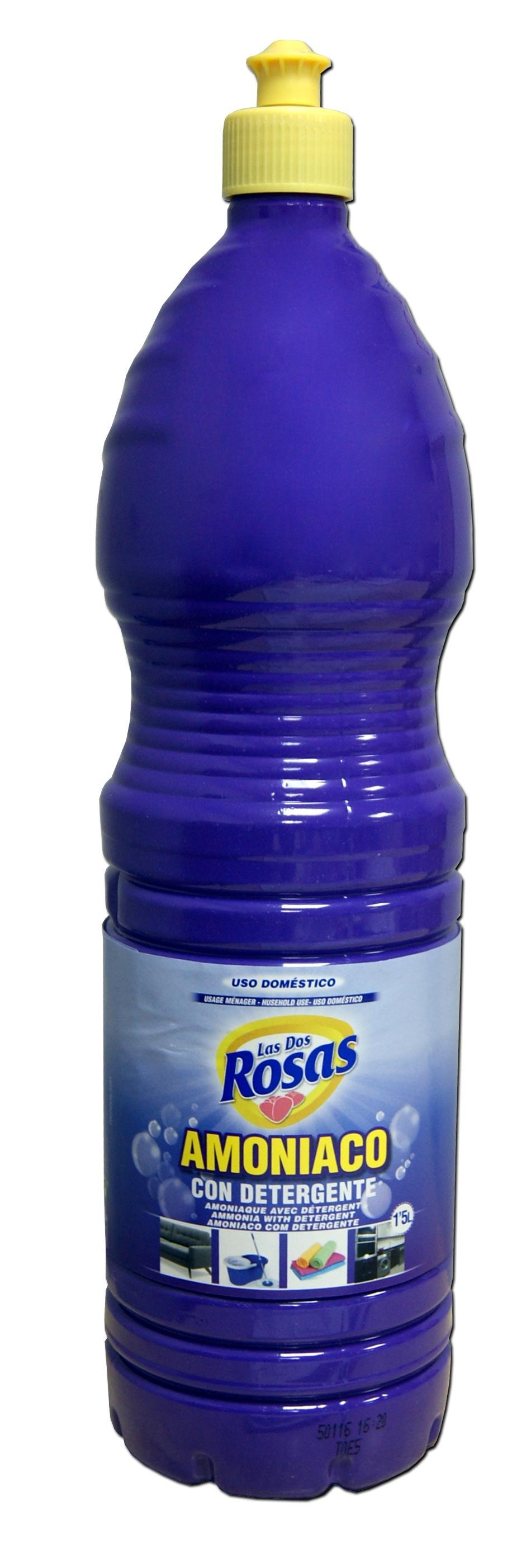 Las 2 Rosas Amoniaco con Detergente 1,5 L