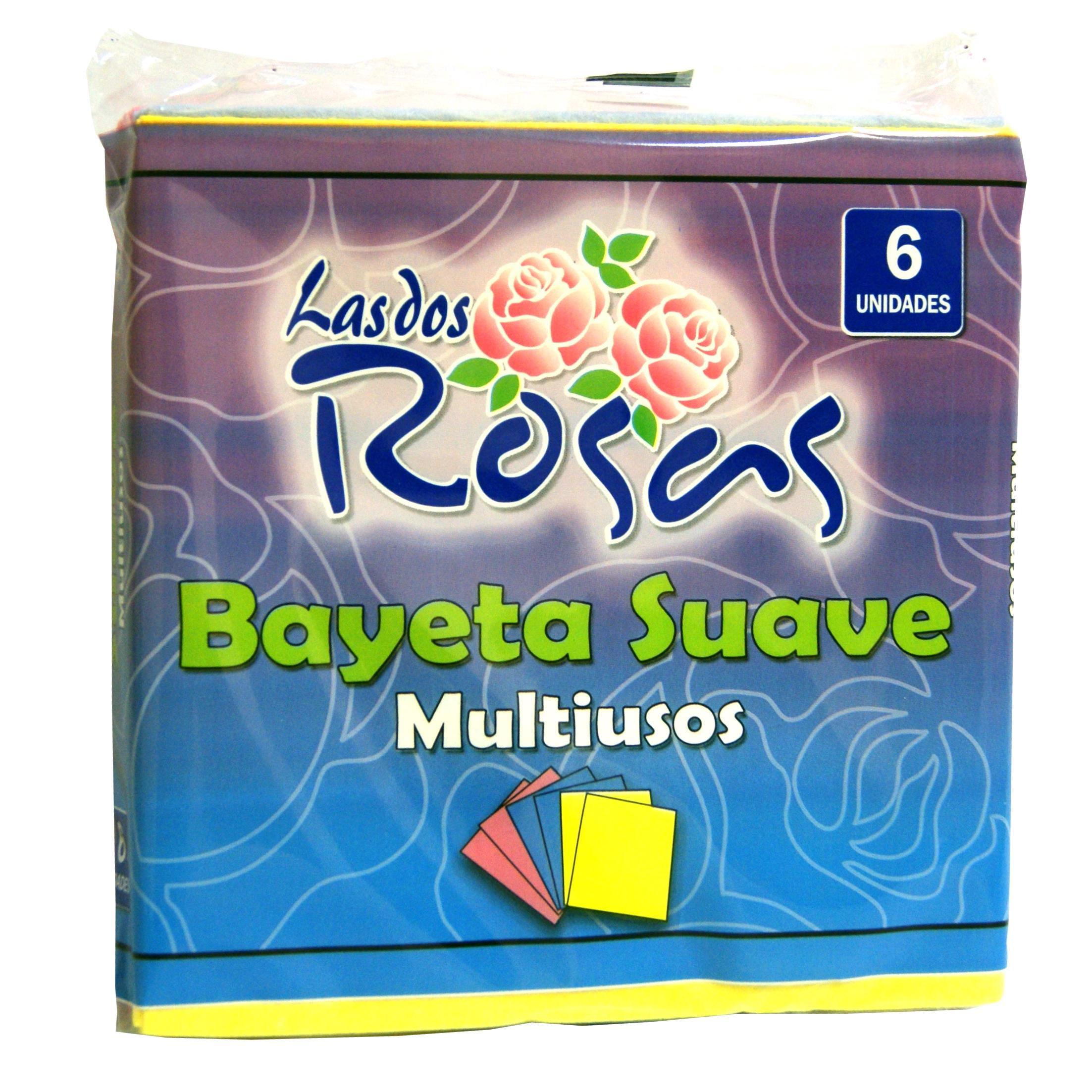 Las 2 Rosas bayeta 6unds