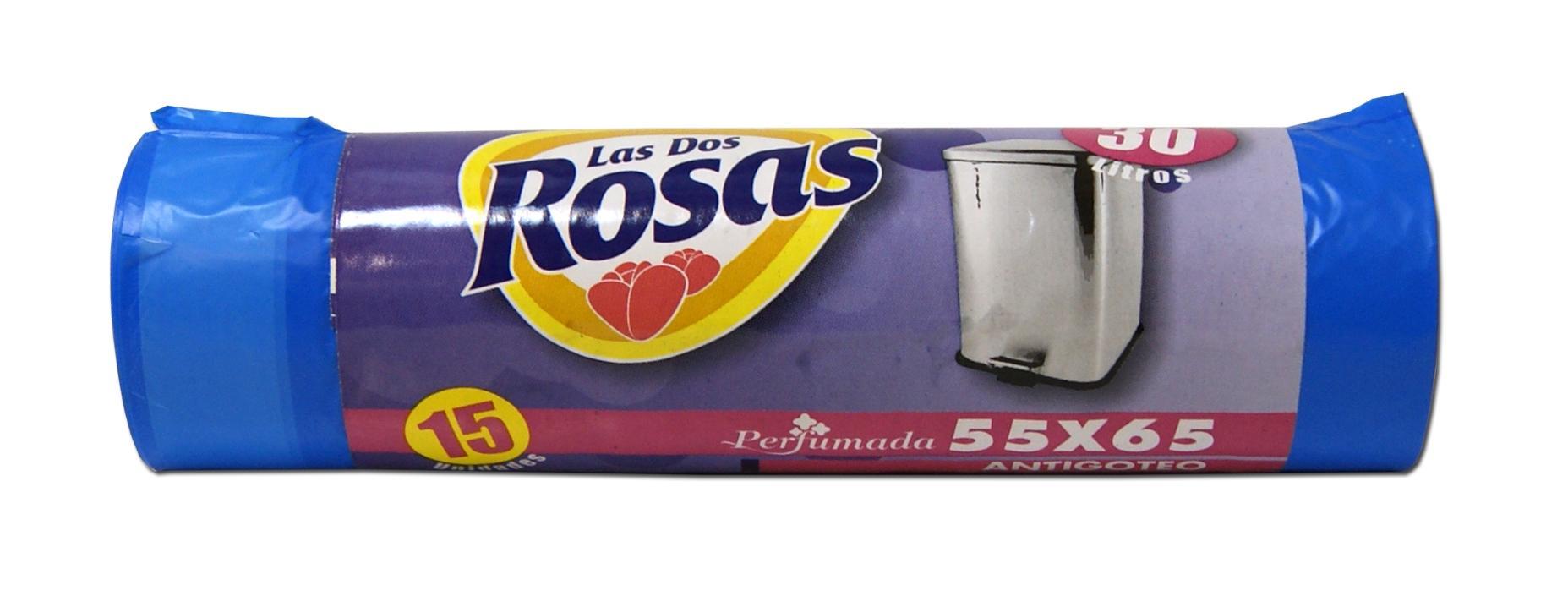 Las 2 Rosas bolsa basura 30l 15u