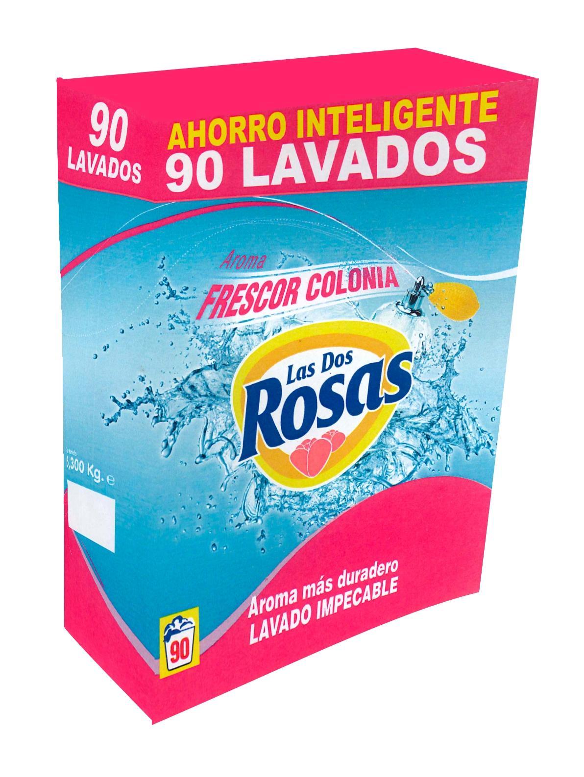 Las 2 Rosas Detergente Colonia 90d 6,30kg