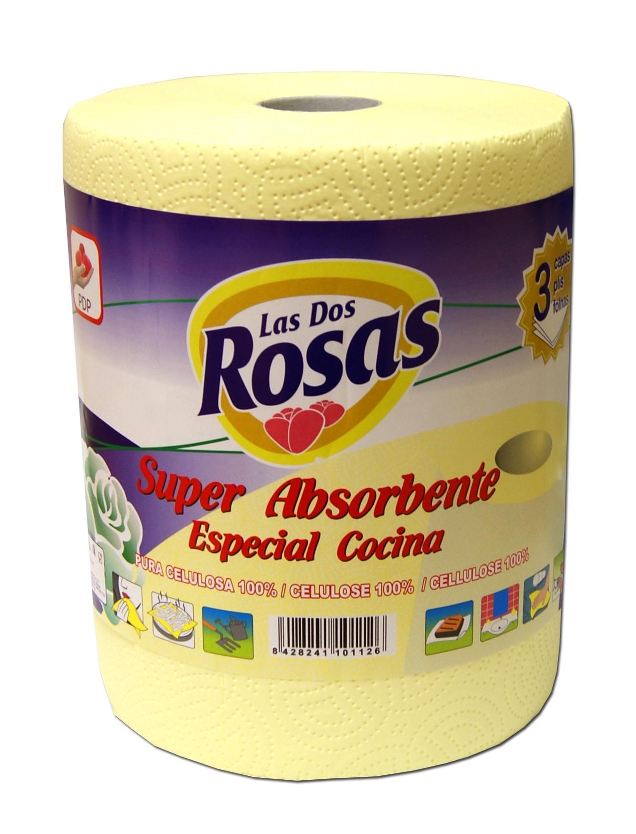Las 2 Rosas bobina cocina amarillo