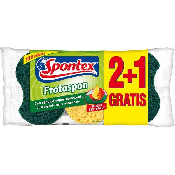 Spontex frotaspon verde 2+1