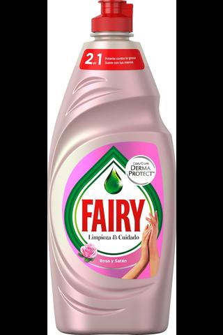 Fairy Rosa y Saten 500ml