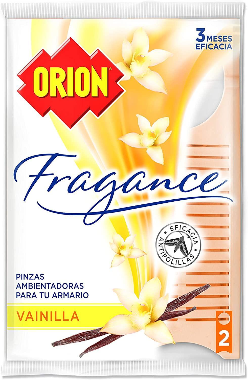 Orion Pinza Antipolilla Vainilla 2u