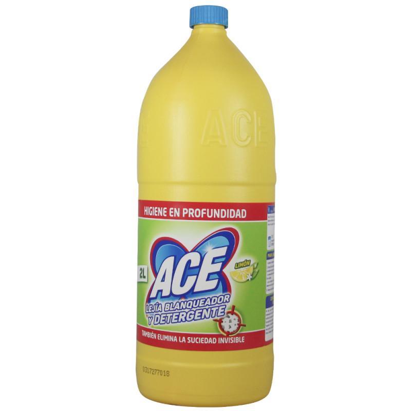 Ace Lejía + Detergente Limón 2L