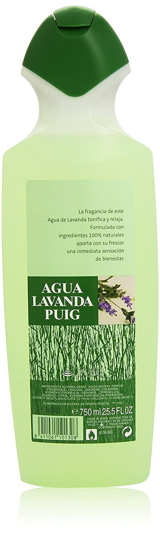 Agua Lavanda Puig colonia 750ml