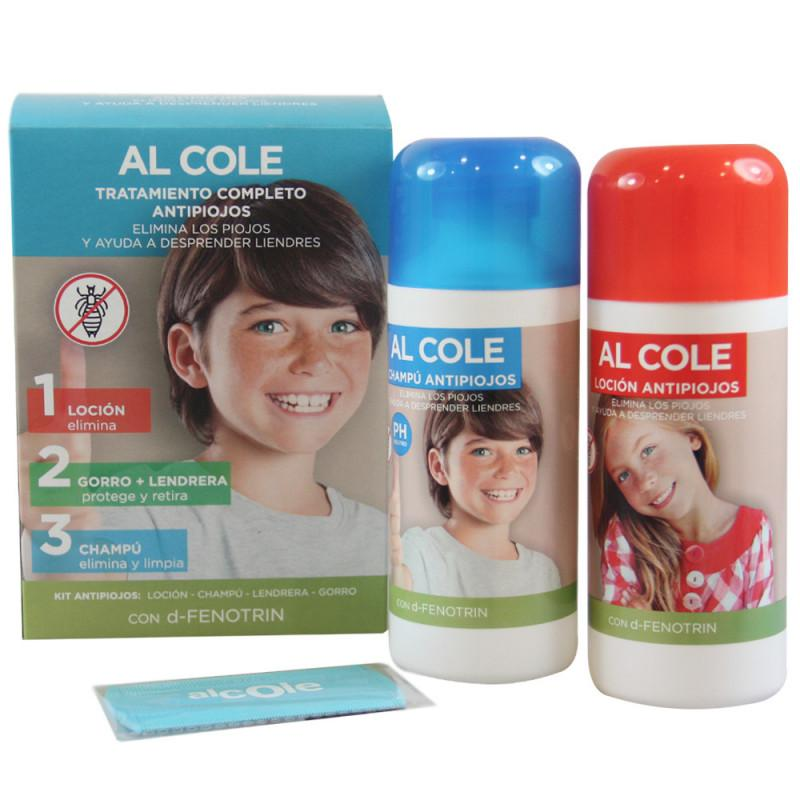 Al Cole Tratamiento Completo Antipiojos
