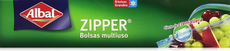 Albal bolsa conservación Zipper 1L 12u
