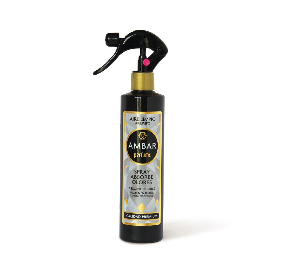 Ambar Spray Absorbe Olores Aire Limpio 280 ml