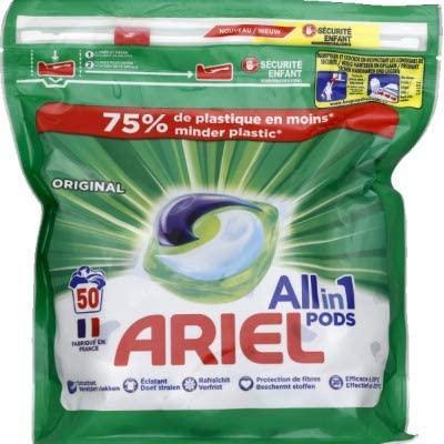 Ariel Caps Todo en 1 50 unidades