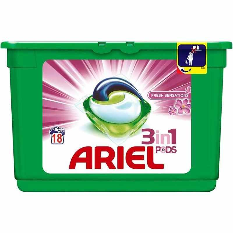 Ariel Caps Fresh Sensaciones 18 unidades