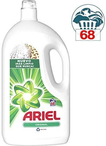 Ariel Detergente Líquido Original 68D 3740ml