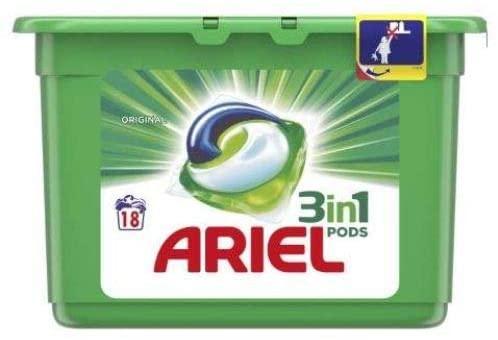 Ariel caps 18u
