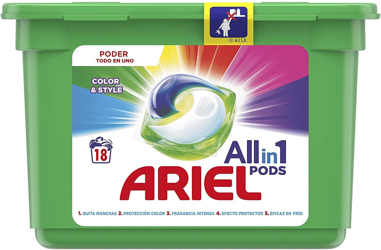 Ariel caps color 18u