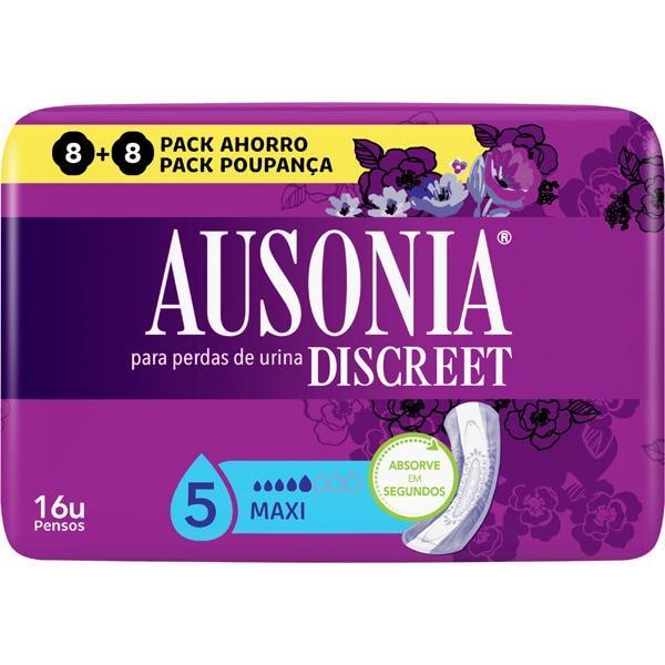 Ausonia Discreet Maxi Pack 16 unidades