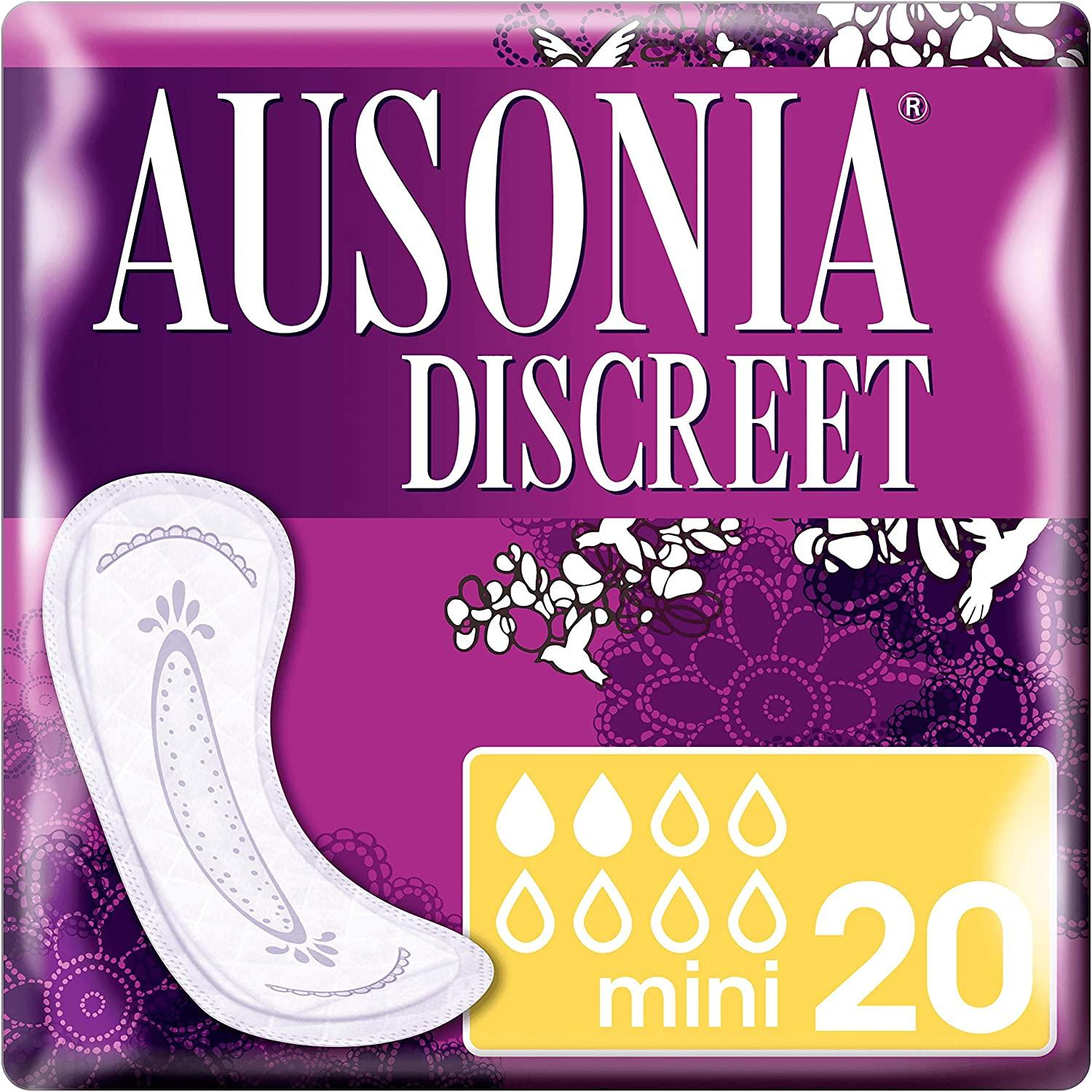 Ausonia discreet mini 20u