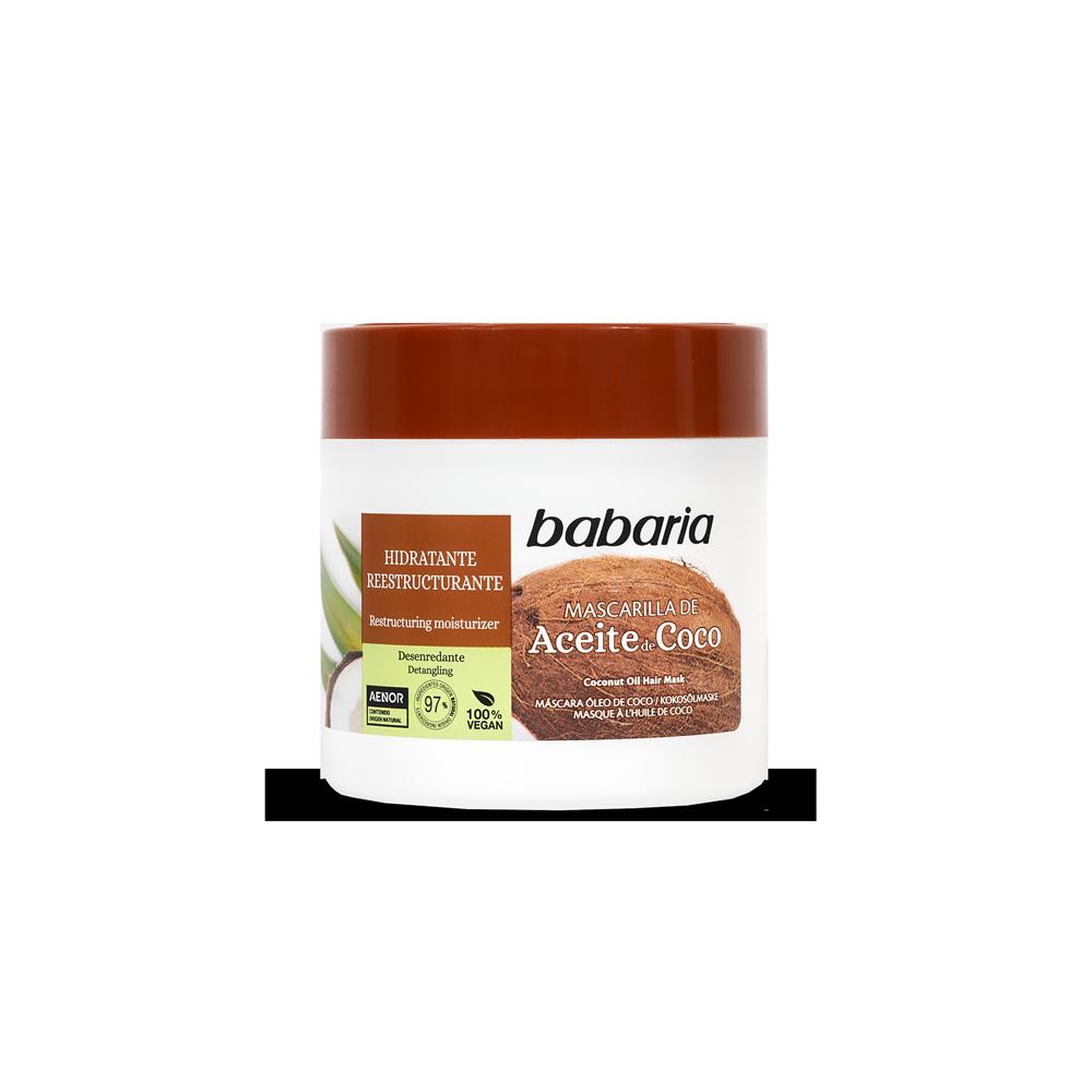 Babaria Mascarilla Capilar Aceite de Coco 400ml