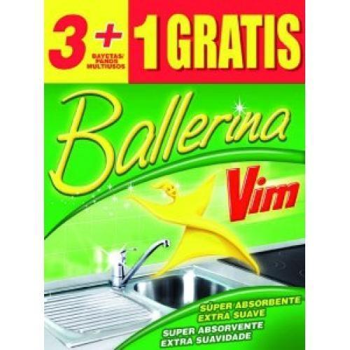 Ballerina amarilla 3+1 u