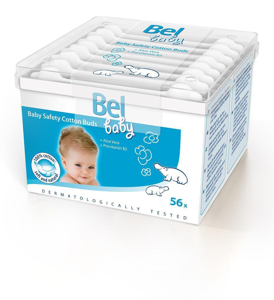 Bel Bastoncillos Seguridad infantil 56u