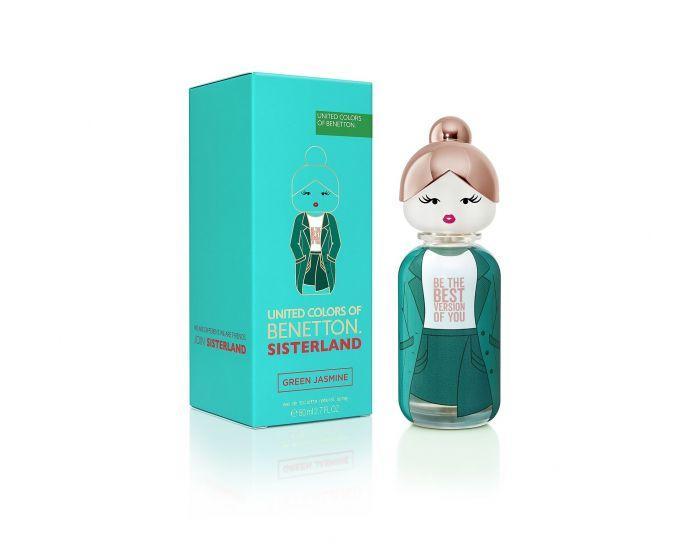 Benetton Sisterland Colonia Green Jasmine 80 ml Vaporizador