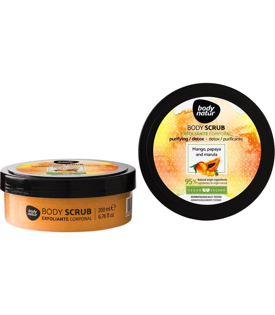 Body Natur Exfoliante Corporal Papaya y Mango 200ml