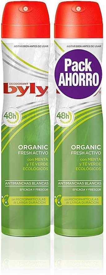 Byly Desodorante Spray  Pack 2u Organic
