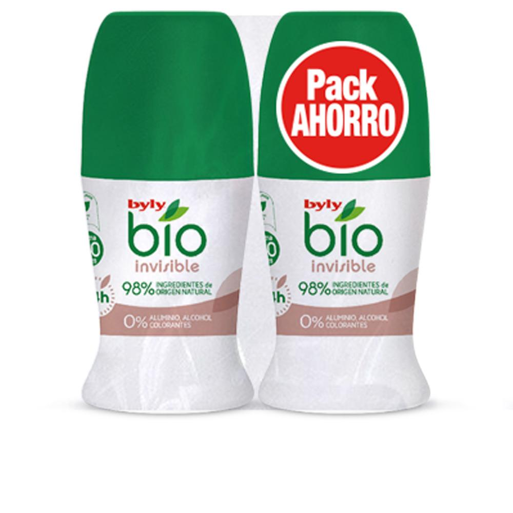 Byly Desodorante Rol-on Bio Invisible pack 2u
