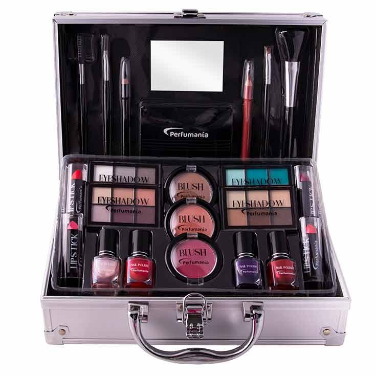 Cofre Maquillaje Metálico
