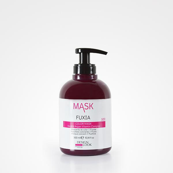 Design Look Mascarilla color Fuxia 300ml