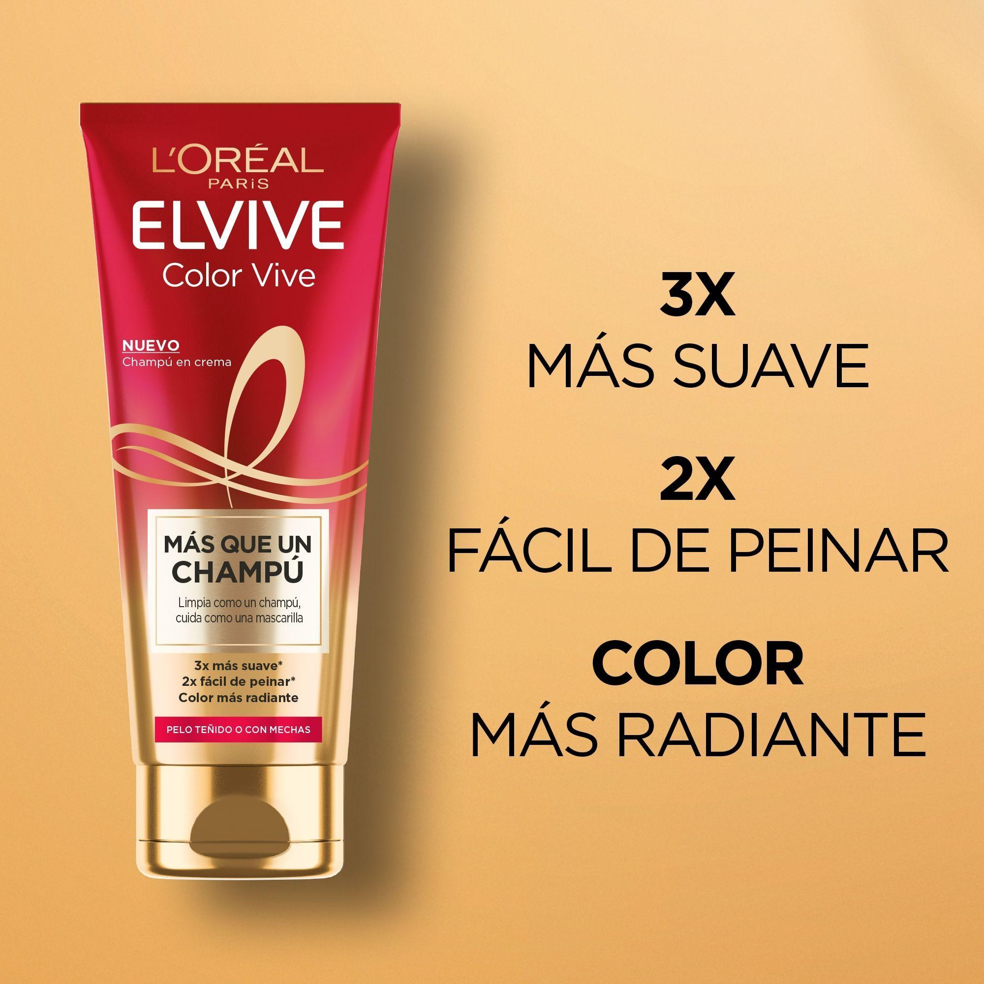 Elvive Más que un Champú Color Vive 200ml