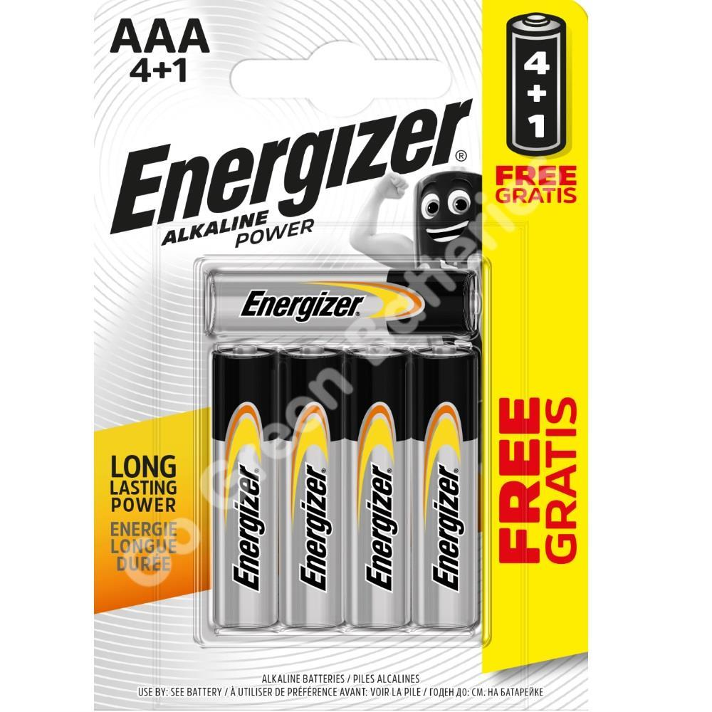 Energizer Pilas AAA 4+1uds