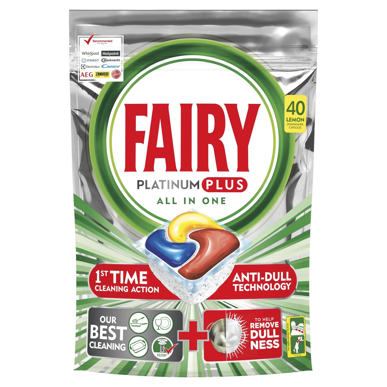 Fairy Caps Platinum 40 pastillas