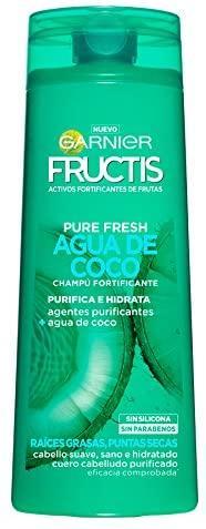 Fructis Champú Pure Fresh Agua Coco 360ml