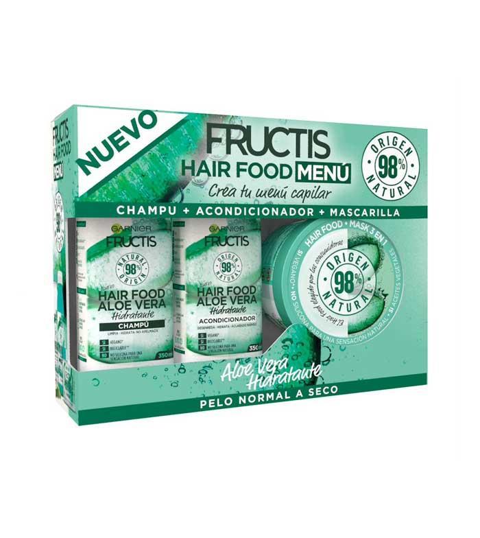 Fructis Hair Food Tratamiento Completo Aloe