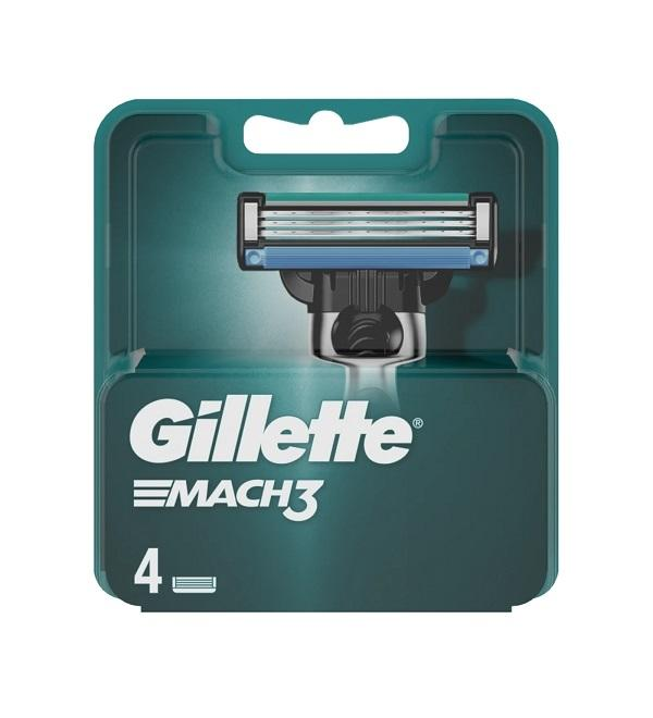 Gillette Mach3 Cargador 4u