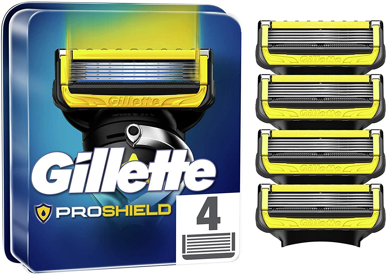 Gillette Proshield Recambio 4 unidades