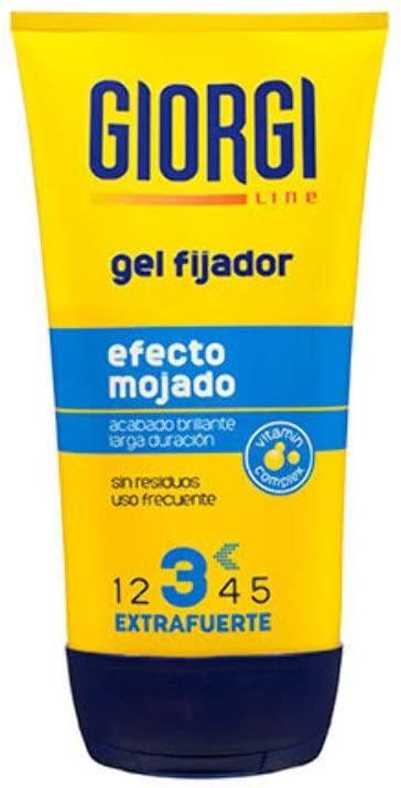 Giorgi Gel Fijador 3 efecto mojado 150ml