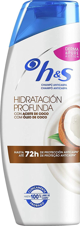 H&S Champú Hidratación Profunda 340ml