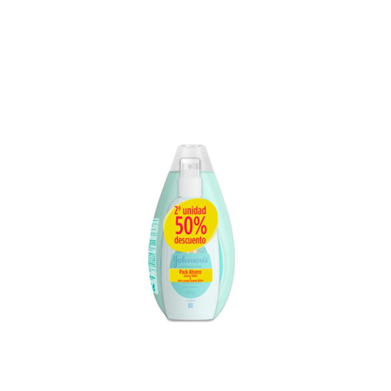 Johnsons Champú No Tirones 500ml + Spray Acondicionador