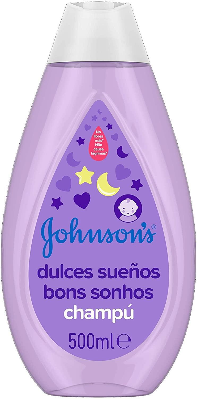 Johnsons Champú 500ml dulces sueños