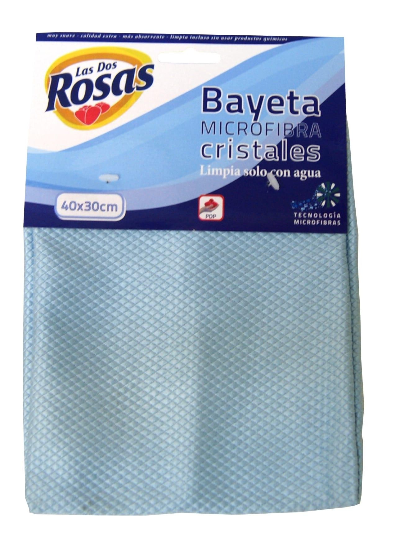 Las 2 Rosas Bayeta Cristales 30x40 cm
