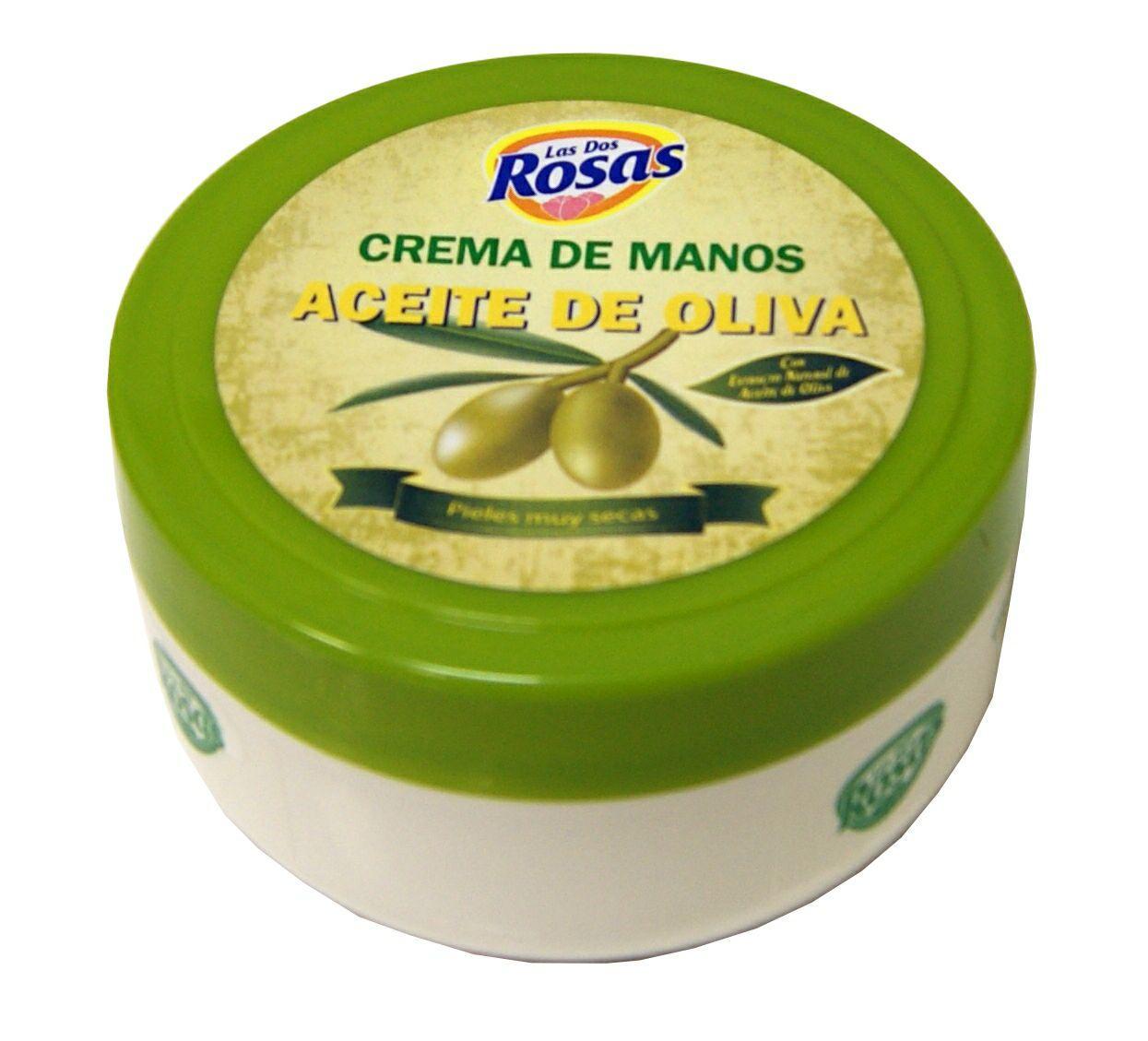 Las 2 Rosas Crema de Manos Oliva 200ml