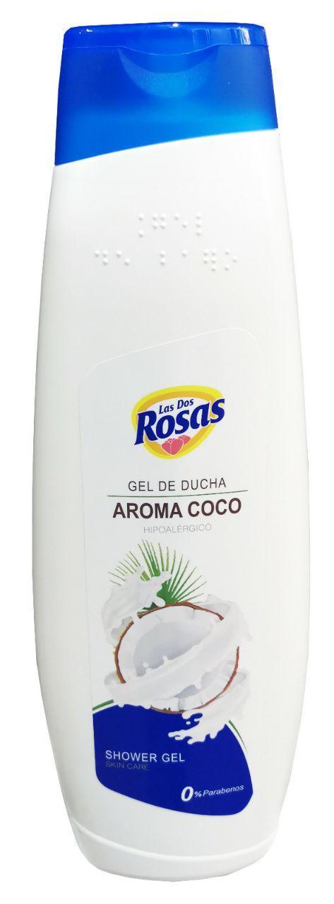 Las 2 Rosas Gel Ducha Coco 1.250ml