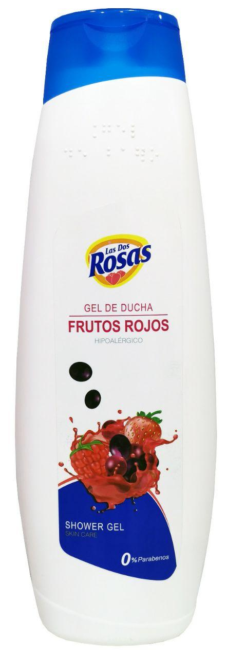 Las 2 Rosas Gel Ducha Frutos Rojos 1.250ml